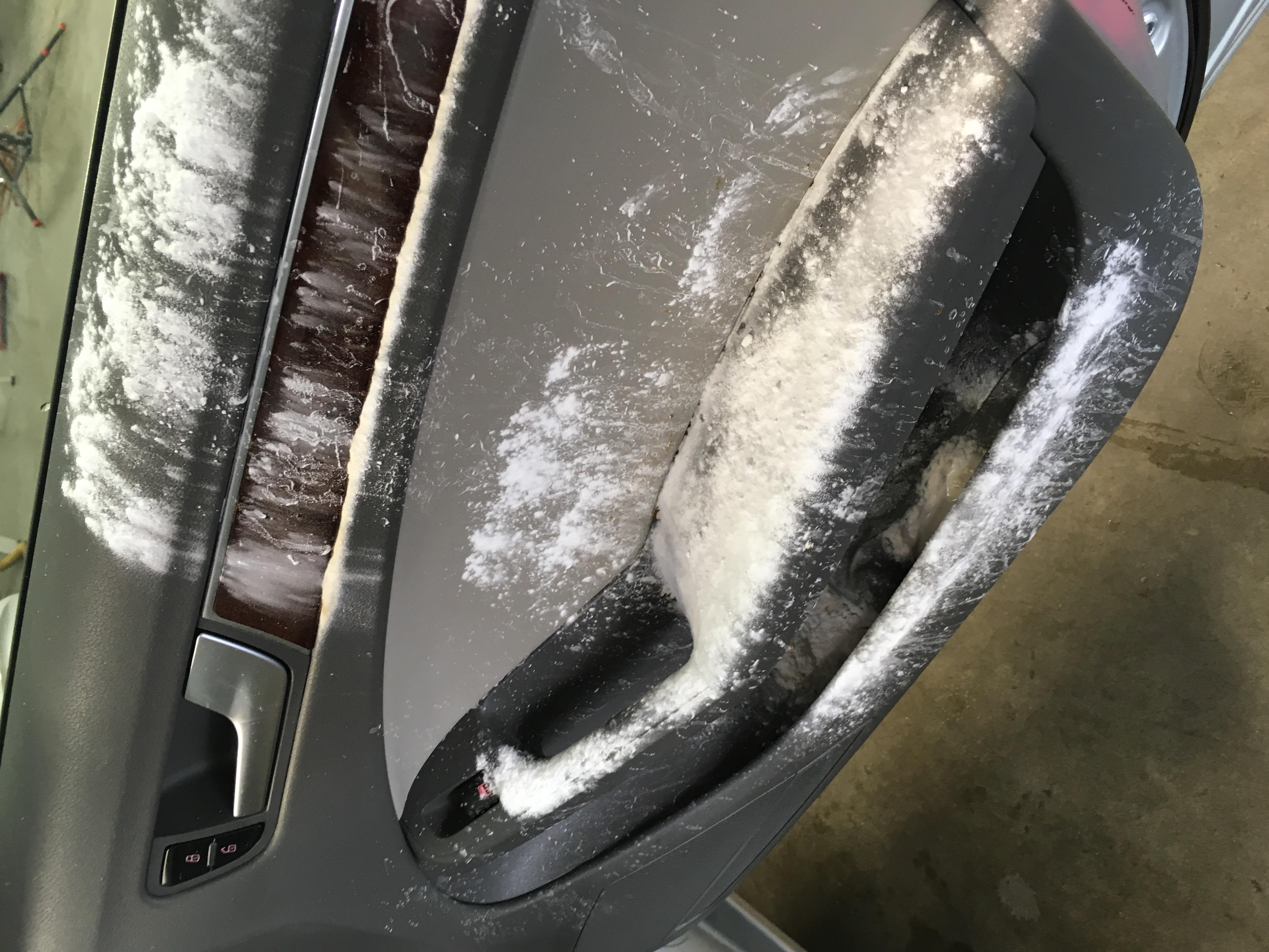 Audi interior panel