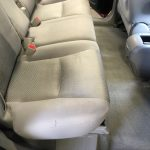 Interior upholstery after detail