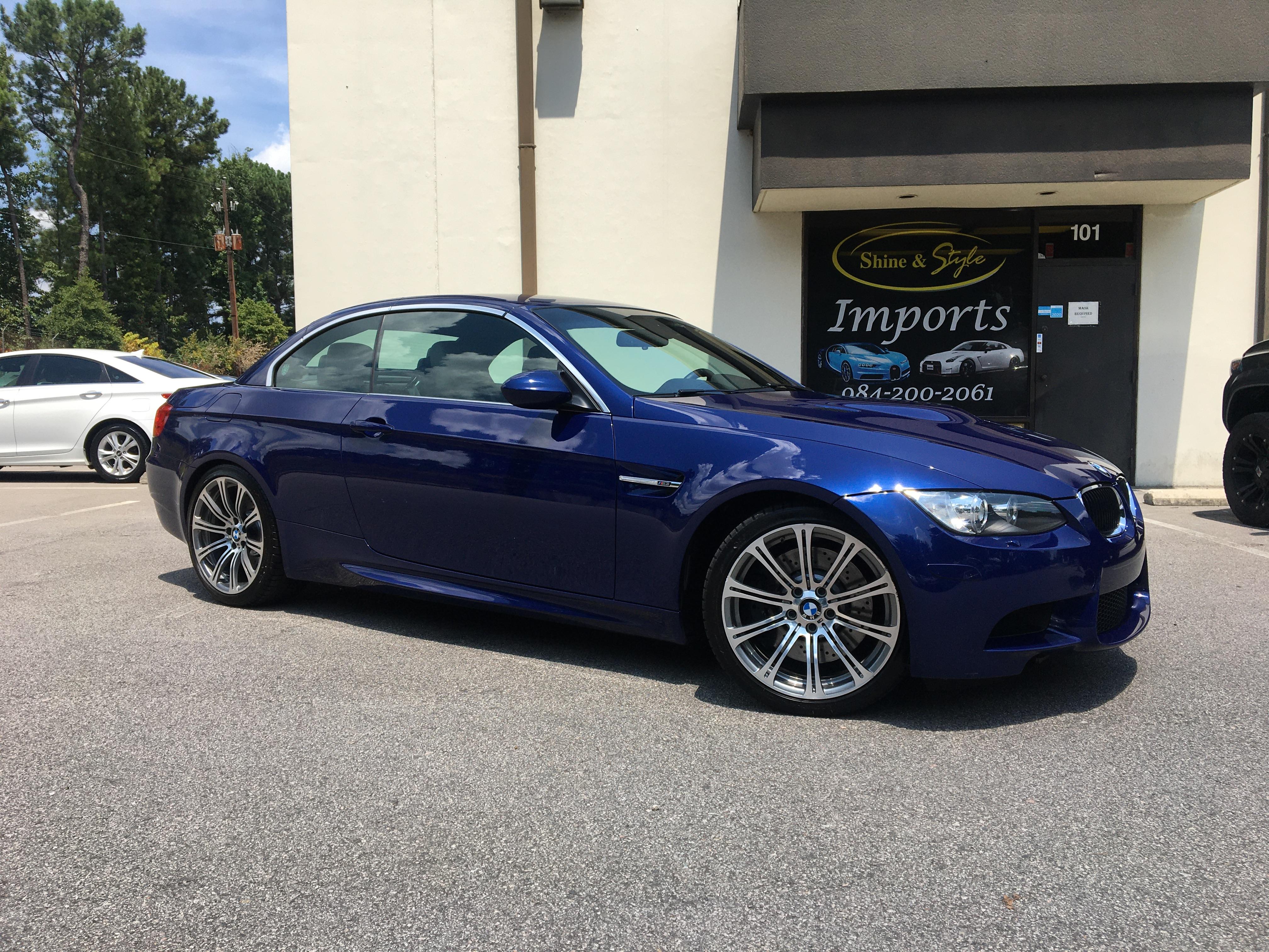 BMW M3 Paint Correction